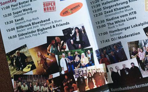 SUPER WANG! am 11.06. 2017 um 12:30 Uhr – live beim Harburger Binnenhafenfest, Kanalplatz 6, 21079 Hamburg